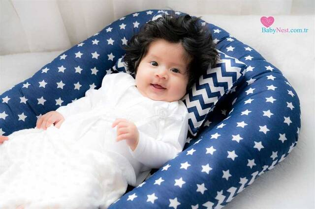 BabyNest Lacivertim Yıldızlı ve Zikzak