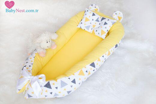 BabyNest - BabyNest Sarı Üçgen