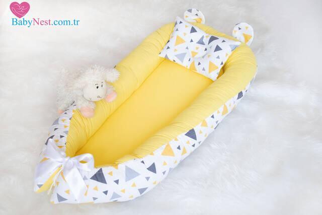 BabyNest Sarı Üçgen