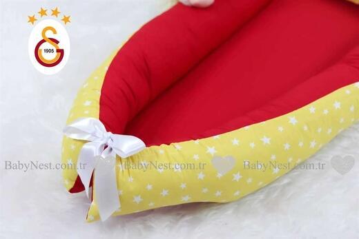 BabyNest - BabyNest Sarı Yıldız ve Kırmızı