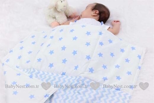 Battaniye - Mavi Yıldız ve Mavi Zigzag - Thumbnail
