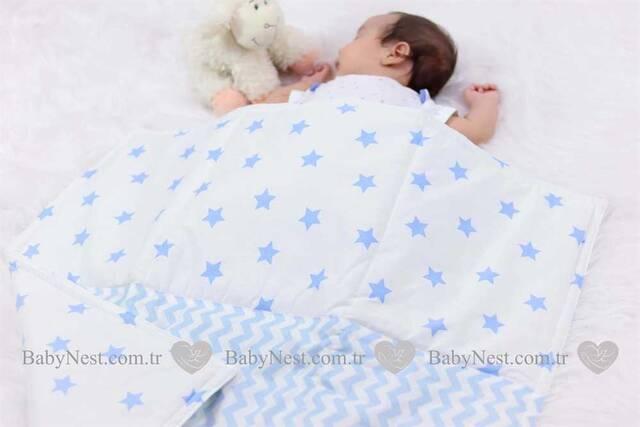 Battaniye - Mavi Yıldız ve Mavi Zigzag